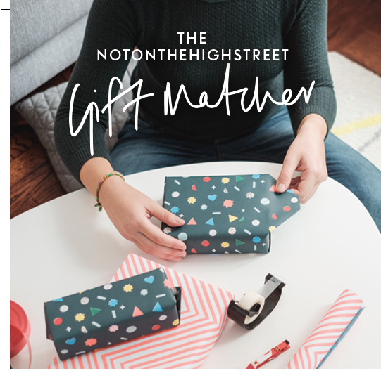 Not on the high street the latest in gift matching technology gift matcher negle Gallery