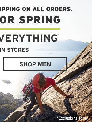 GEAR UP FOR SPRING | SHOP MEN