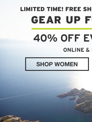 GEAR UP FOR SPRING | SHOP WOMEN