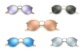 Ray-Ban Round Metal Sunglasses for Women and Men