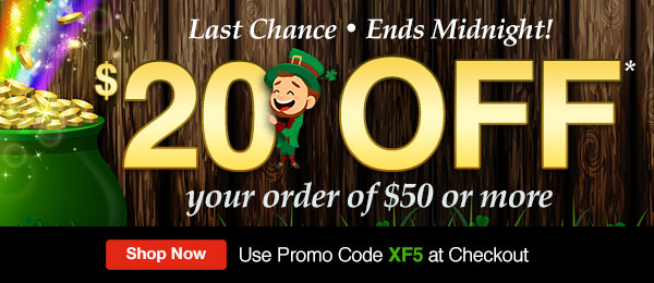 $20 Off Your Order of $50 or More