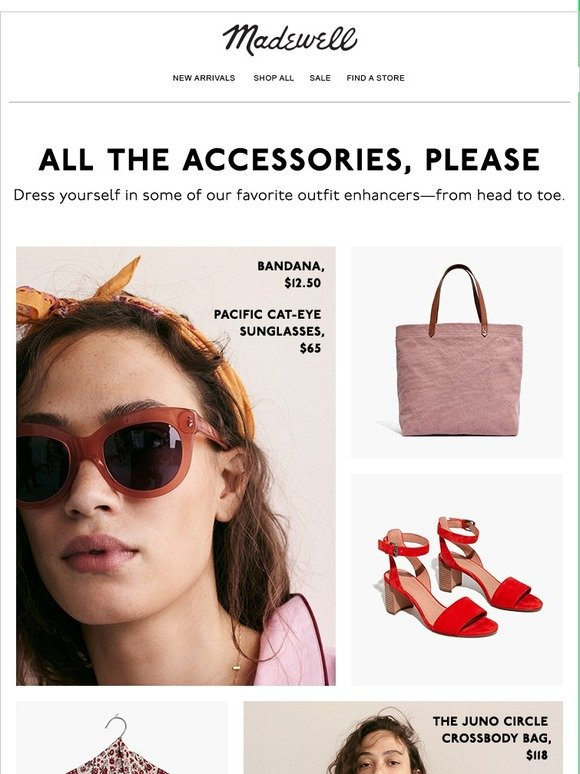 8500abe6e6 Madewell  Let s talk accessories