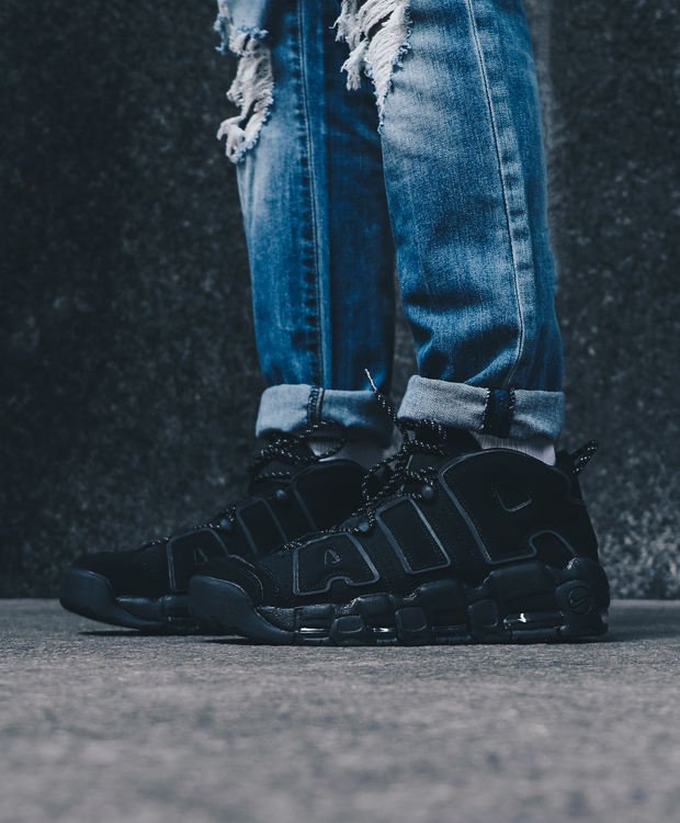 premium selection dc107 276d2 VIlla: AIR MORE UPTEMPO 'BLACK REFLECTIVE' | Now Available | Milled