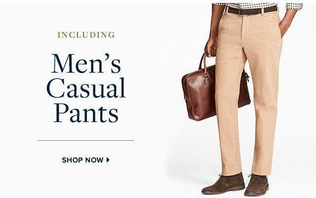 MEN'S CASUAL PANTS   SHOP NOW