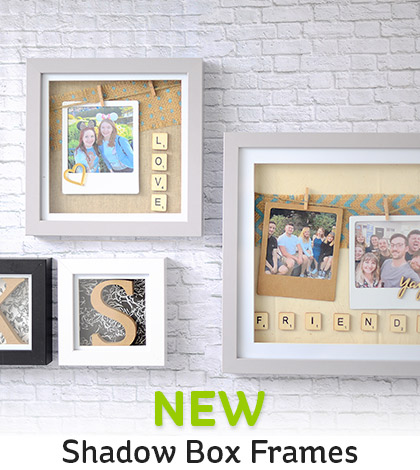 8859a3dc108 Hobbycraft New Shadow Box Frames Milled