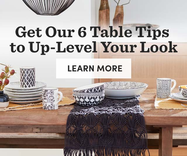 Get Our 6 Table Tips To Up-Level Your Look