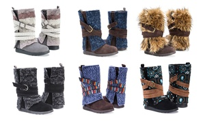 Muk Luks Women's Nikki or Nevia Boots (Sizes 6, 7, 10, 11)