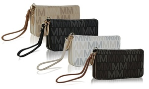 MKF Collection Hofstra M-Signature Wristlet by Mia K. Farrow