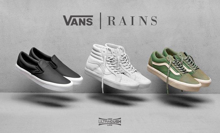 vans rains