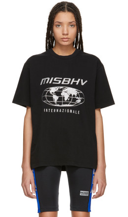 MISBHV - Black 'Internazionale' T-Shirt