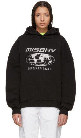 MISBHV - Black 'Internazionale' Hoodie