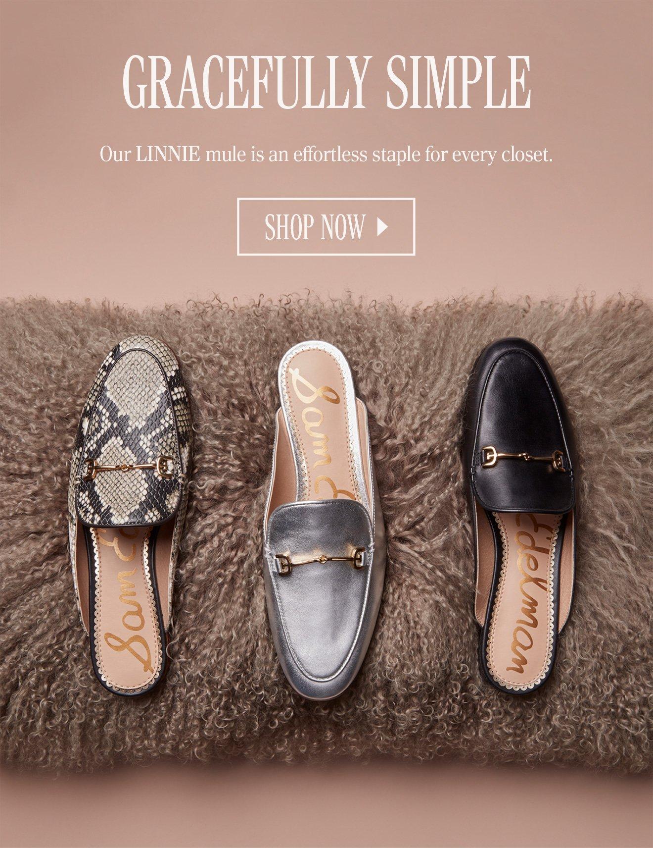 Sam Edelman Linnie Leather Slip-On Mules RGwLZYM