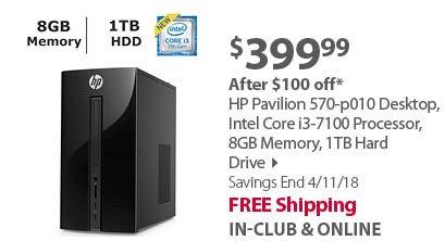 HP Pavilion 570-p010 Desktop