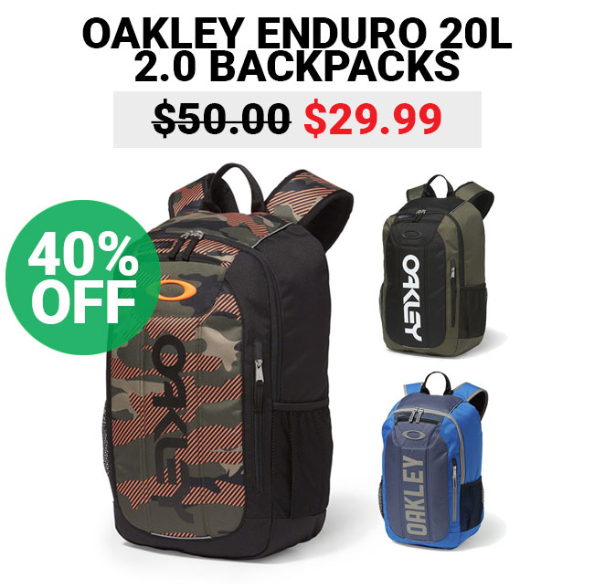6c492e73fb Botach  Flash Sale - Oakley Enduro 20L 2.0 Backpacks