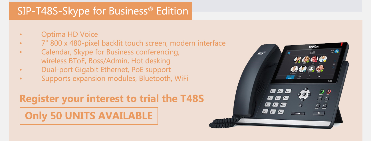 PB Tech: Trial Yealink's newest IP Phone for FREE!   Milled