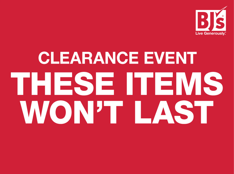 Clearance event Banner