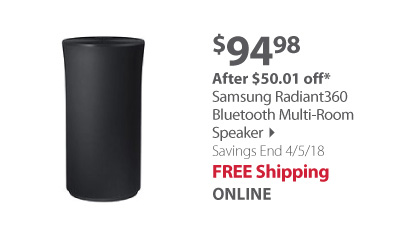 Samsung Radiant360 Bluetooth Multi-Room Speaker