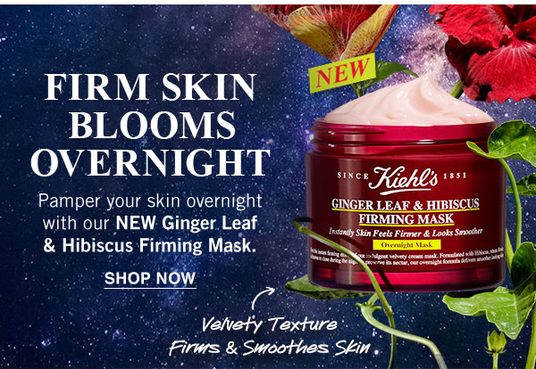 �ล�าร���หารู��า�สำหรั� kiehl's ginger leaf & hibiscus firming mask