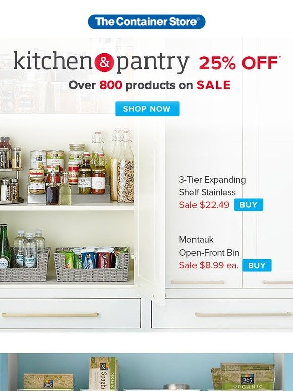 46a55eabd65 The Container Store  What Your Pantry Is Missing