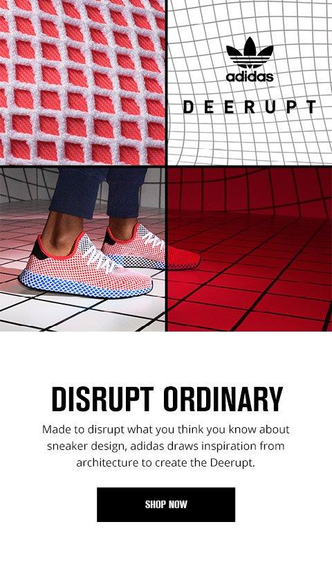 foot locker: a griglia con l'adidas originali deerupt