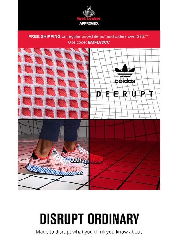 Foot Locker  Get on the grid with the adidas Originals Deerupt Runner  e17295ae4