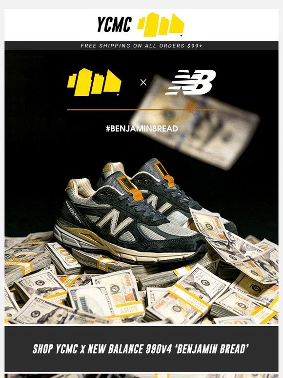 sports shoes 9e96d fa346 Your City My City: 💵 Just Released: YCMC x New Balance ...