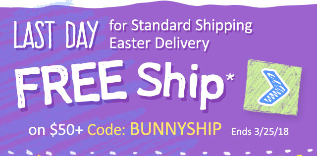 Hearthsong last day free ship up to 50 off easter gifts milled last day for standard shipping easter delivery free ship on 50 code bunnyship ends negle Gallery