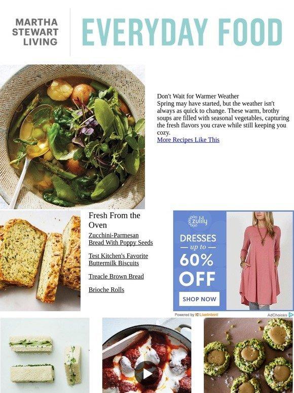 martha stewart feel good soups to kick off spring milled