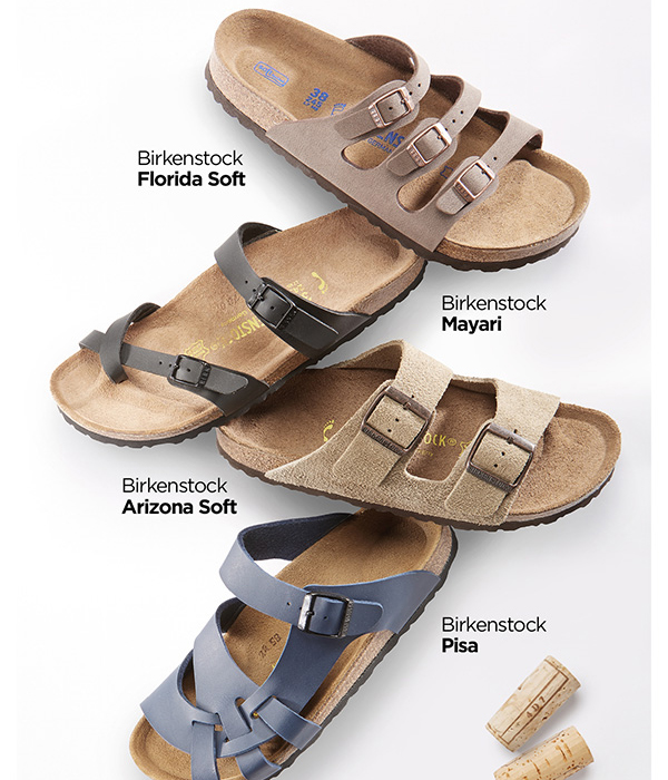 dc510c03950c Foot Smart   NEW Cork Sandals from Birkenstock