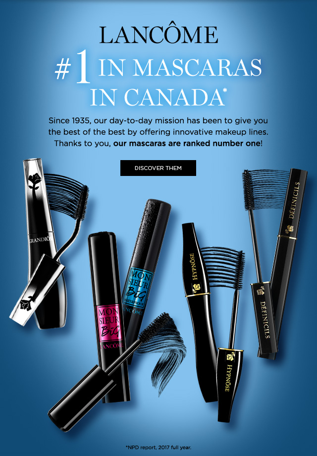 67314c07b4e Lancome: Lancôme: The #1 Mascara Brand in Canada! | Milled