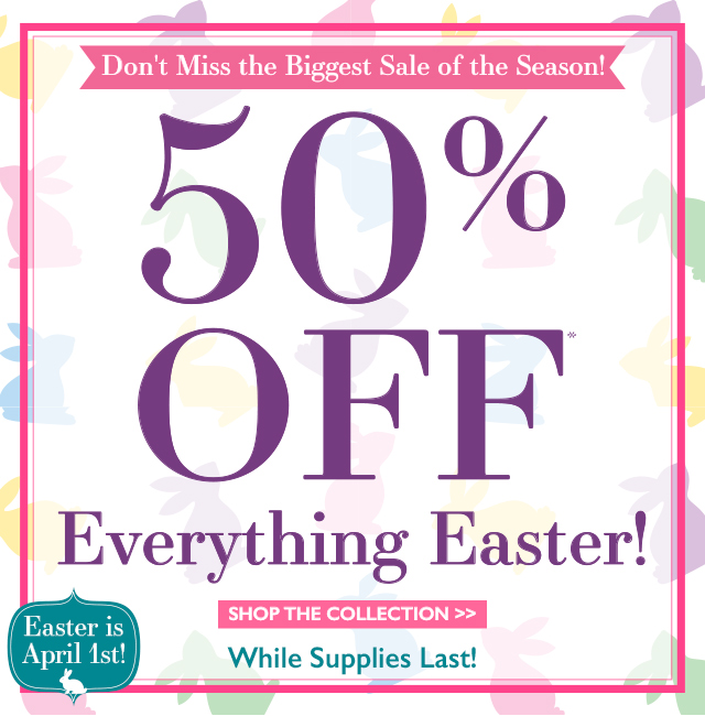 The popcorn factory 50 off last minute easter gifts milled negle Choice Image