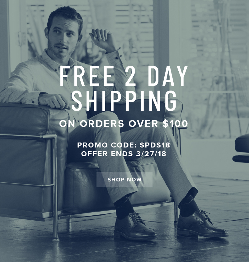 FREE 2 day shipping on all orders over $100 when you use promo code SPDS18 during checkout. Display images to learn more!
