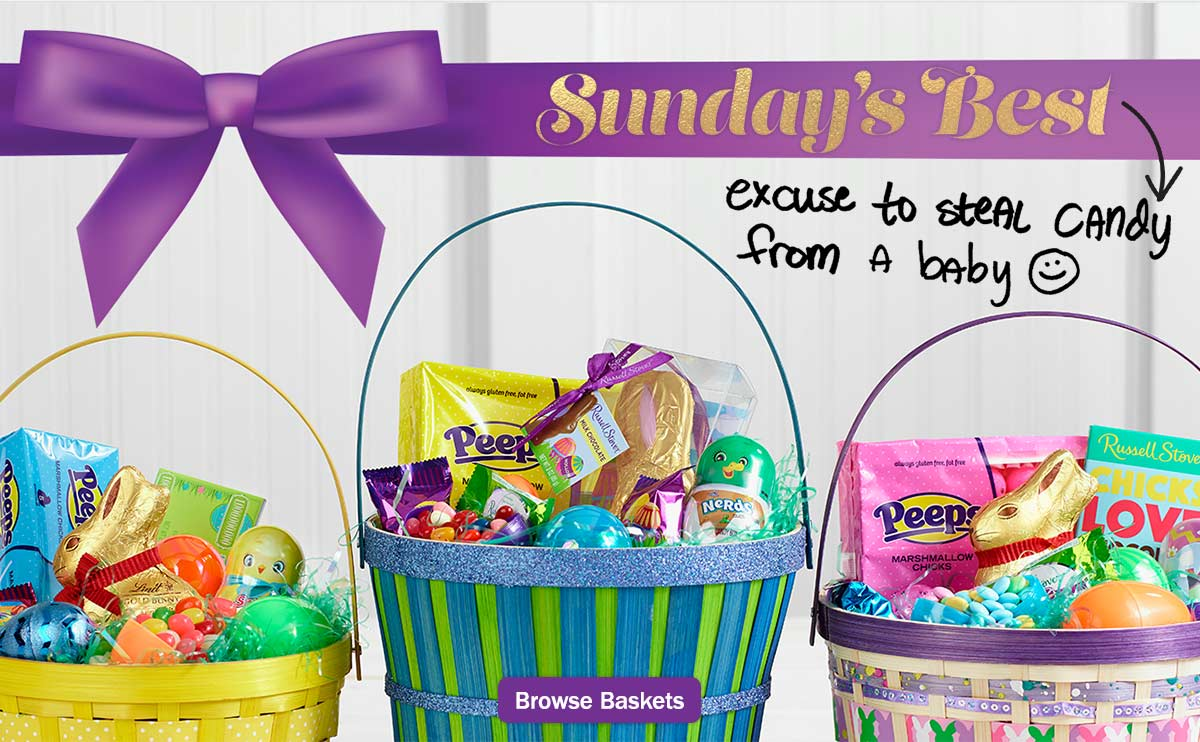 Meijer hop to it easter baskets ham milled sundays best excuse to steal candy from a baby negle Image collections