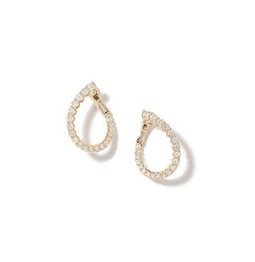 Anne Sisteron Merida Yellow-Gold Diamond Earrings $4,935