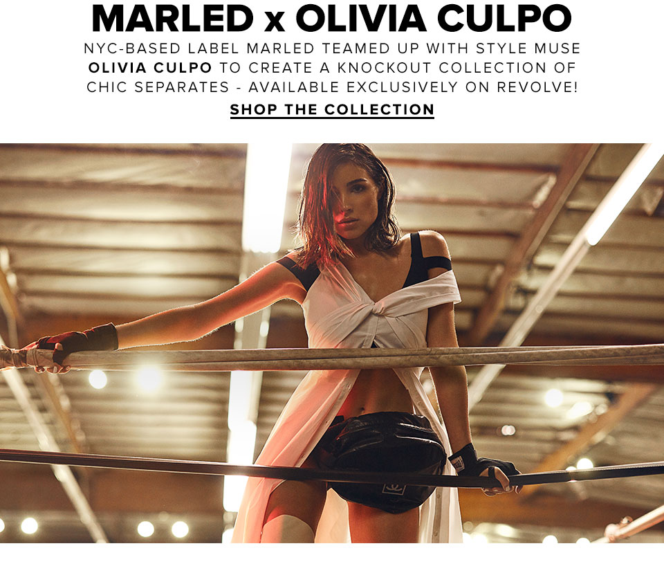 2853675544ec4f Marled x Olivia Culpo. NYC-based label Marled teamed up with style muse  Olivia