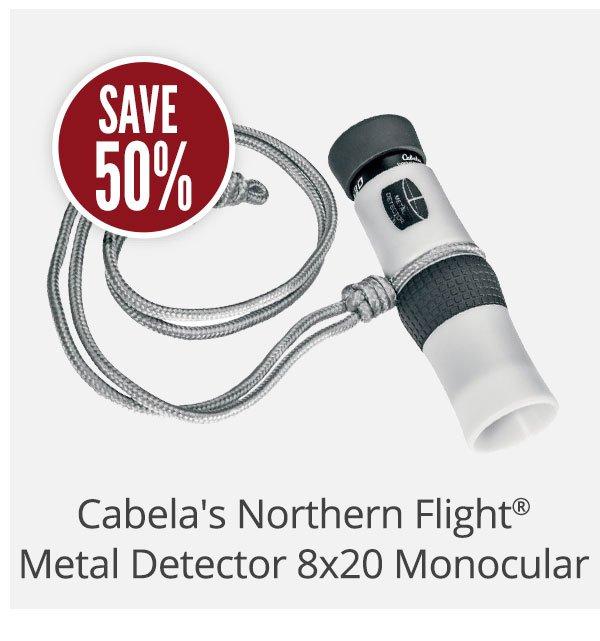 Cabela's Northern Flight Metal Detector Monocular