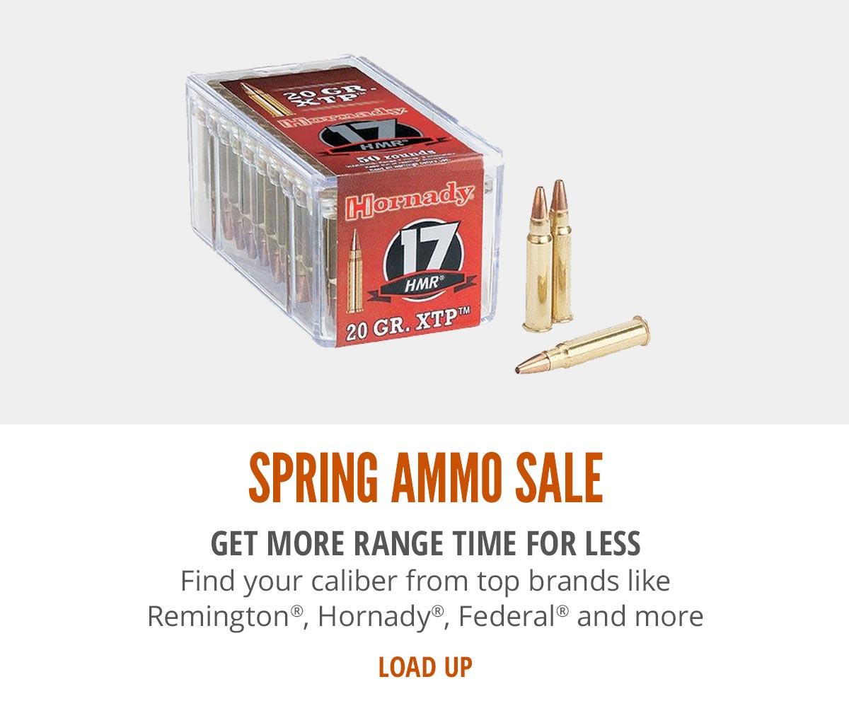 Spring Ammo Sale