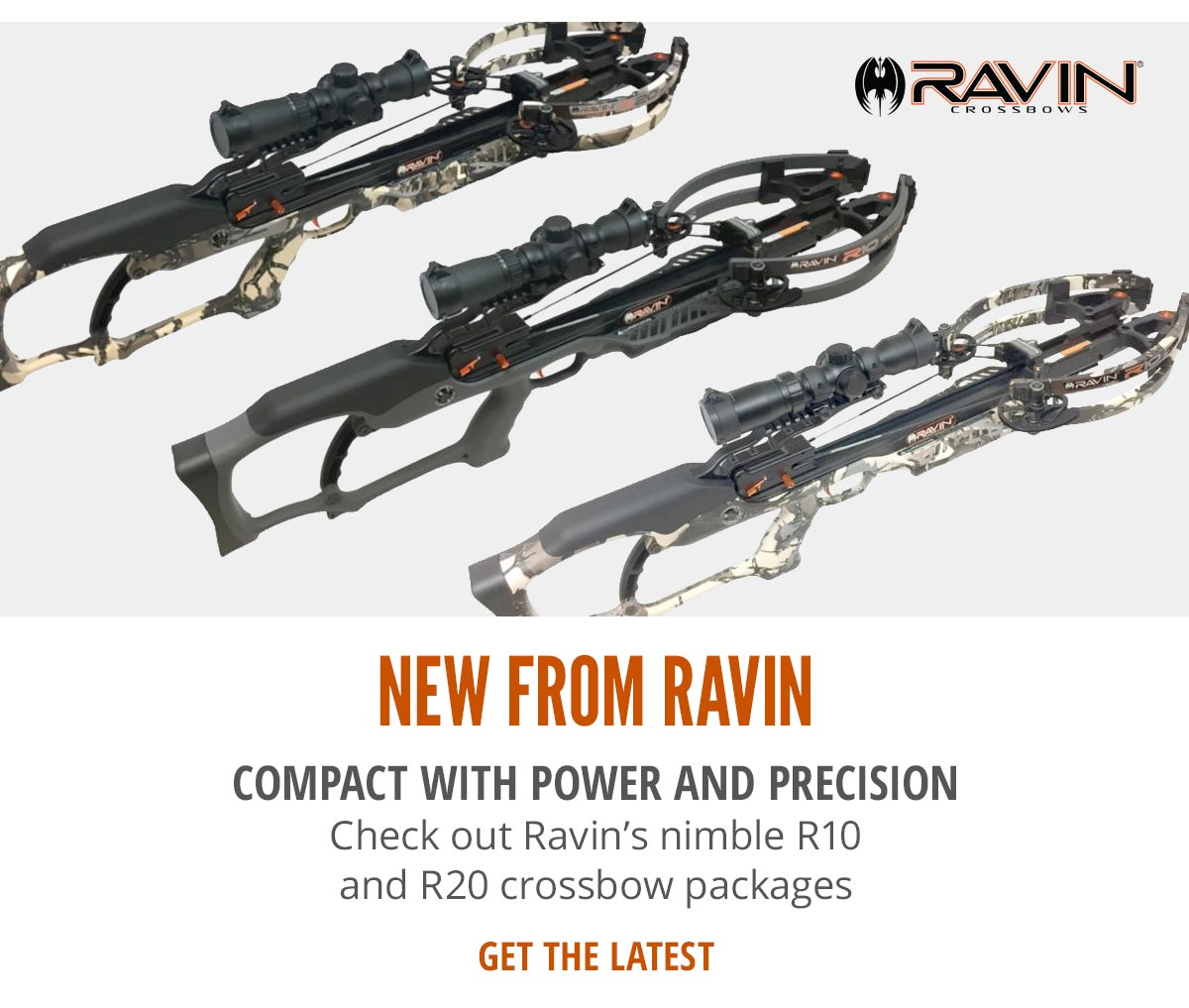 NEW Ravin Crossbow Packages