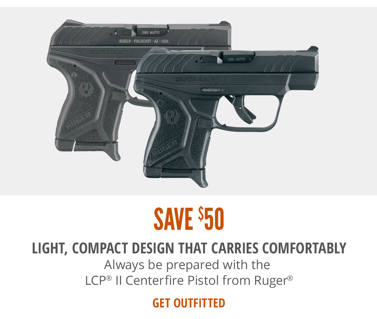 Ruger LCP II Centerfire Pistols