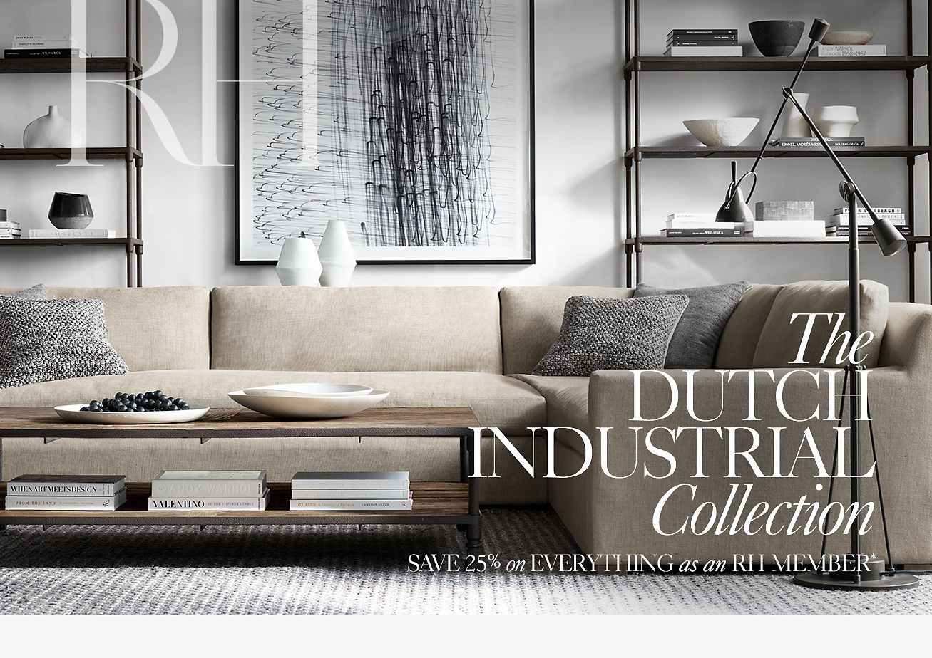 Restoration Hardware The Dutch Industrial Collection Handcrafted