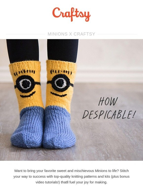 Craftsy Minions X Craftsy Milled