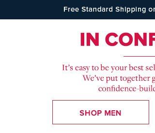 IN CONFIDENCE | SHOP MEN