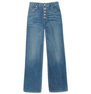 Eve Denim Tropical Cotton Culottes $310