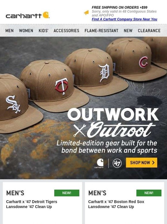 7e08f0281 Carhartt: We've got your Opening Day gear for all 30 teams | Milled