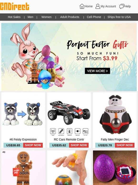 Cndirect perfect easter gifts start from 399 so much fun milled negle Choice Image