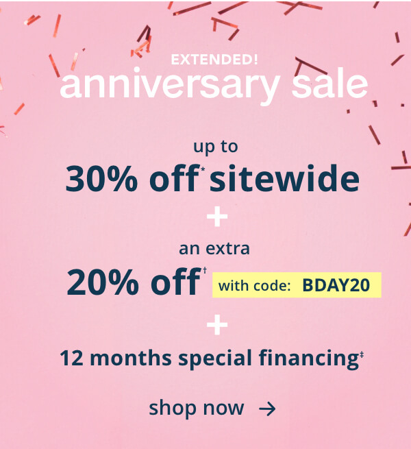 Ashley Homestore: Anniversay Sale EXTENDED: Up to 30% off sitewide ...