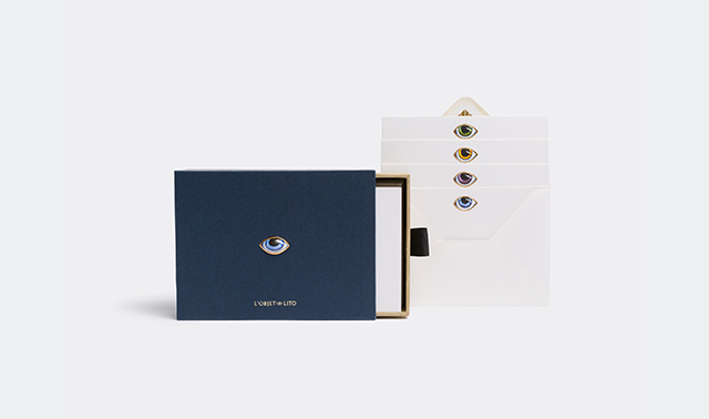 'Lito' stationary box by Elad Yifrach for L'Objet