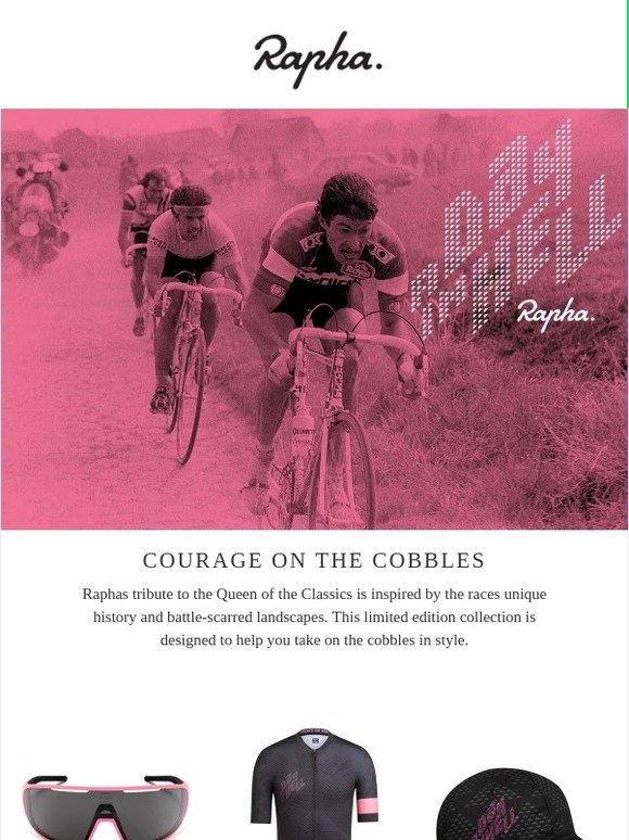 aab1cd894ee Rapha  Kitted out for the cobbles