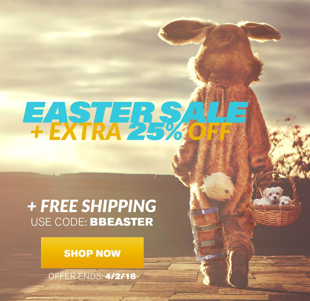 Easter Sale - Extra 25% OFF + Free Shipping