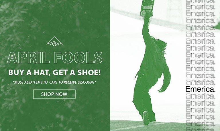 Buy A Hat, Get A Shoe!